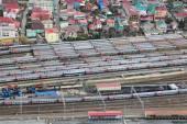 Trains Depot — Stock Photo