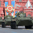 Military hardware on Red Square — Stock Photo #54459839