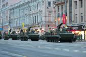 Probe-feier des 69. jahrestag des sieges — Stockfoto