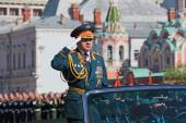 Minister of defence of  Russian Federation — Stock Photo
