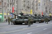 T-90 tanks — Stock Photo