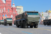 KAMAZ-63968 Typhoon — Stock Photo