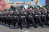 Border guards in Moscow — Stock Photo