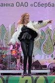 Pop singer Glukoza — Stock Photo