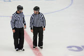 Hockey referees — Stock Photo