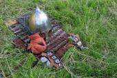 Ortaçağ askeri zırh — Stok fotoğraf