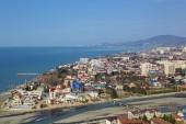 Sochi cityscape with sea — Stock Photo
