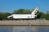 Nave espacial buran — Foto de Stock