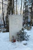 Boris Pasternak grave — Stock Photo