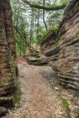 Maze - tectonic fault — Stock Photo