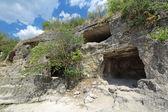 Cave city-Fort Chufut-boerenkool — Stockfoto
