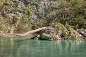 Khosta river in Caucasian biosphere reserve — Stock Photo