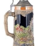 Old clay beer mug — Stock Photo #68562089