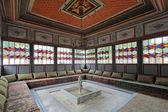 Summer gazebo in Bakhchisaray Palace — Stock Photo
