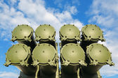 Complex cruise missiles — Stock Photo
