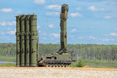 Canoniac launcher air defense — Stock Photo