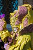 Carnival custom in Venice (Venezia) Veneto Italy Europe — Stock Photo