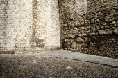 Medieval architecture detail — Stock Photo
