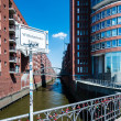 Hafencity and Speicherstadt in Hamburg — Stock Photo #52304243