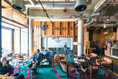 Modern Design Hotel Lobby — Stock Photo