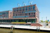 Greenpeace German Headquarters in Hamburg — Stock Photo