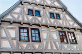 Half timbered house — Stock Photo