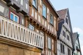 Half timbered houses — Stock Photo