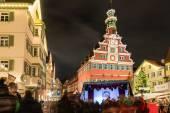 Esslingen bożonarodzeniowy — Zdjęcie stockowe
