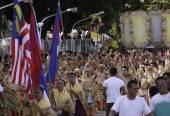 Buglasan Festival 2014 Cultural Dance Parade — Stock Photo
