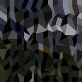 Kamouflage abstrakt låg Polygon bakgrund — Stockvektor
