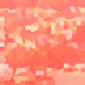 Orange Abstract Low Polygon Background — Vecteur