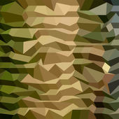 Camouflage Abstract Low Polygon Background — Vecteur