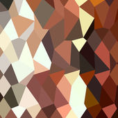 Burnt Sienna Abstract Low Polygon Background — Stock Vector