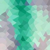 Celadon Green  Low Polygon — Stock Vector