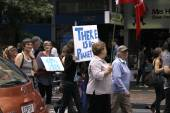 Climate Change March Auckland — Stock Photo