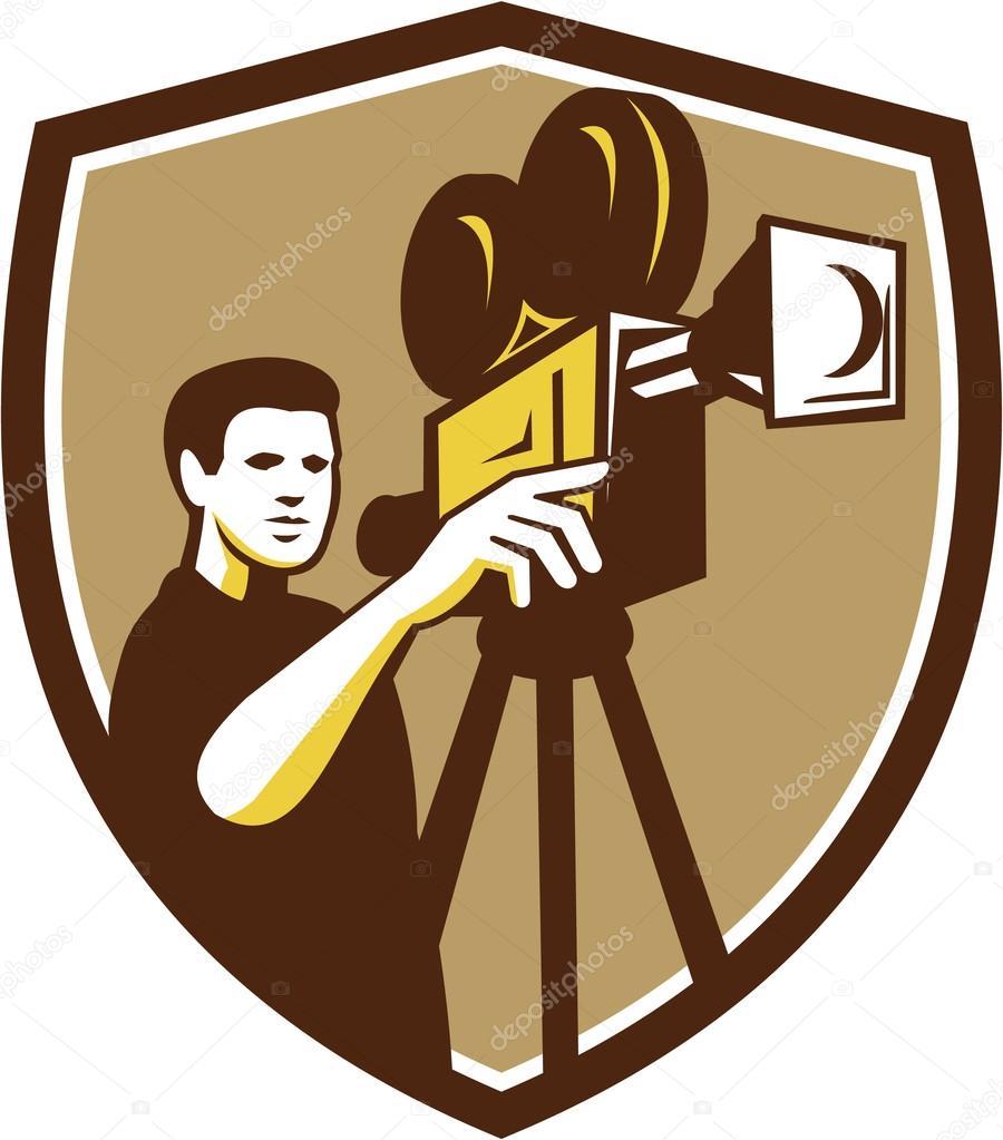 Рисунок видеокамера