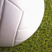 Volley Ball over grass — Stock Photo