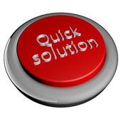 Quick solution — Stock Photo