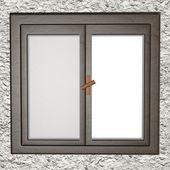 Closed window — Stock Photo