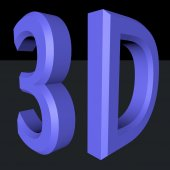 3D symbol — Stock Photo