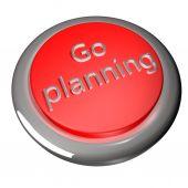 Go planning — Stock Photo