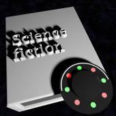 Science fiction — Stock Photo