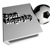Sport biography — Stock Photo