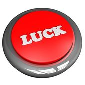 Luck button — Stock Photo