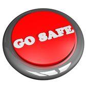 Go safe — Stock Photo