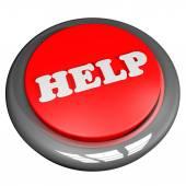 Help button — Stock Photo