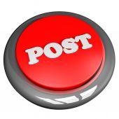 Post button — Stock Photo