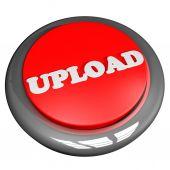 Upload button — Stock Photo