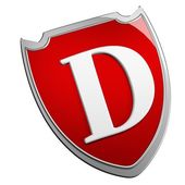 D Shield — Stock Photo