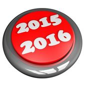 2015 2016 button — Stock Photo